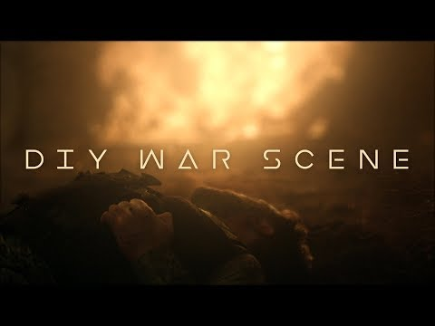 Realistic WAR SCENE On A Small Budget
