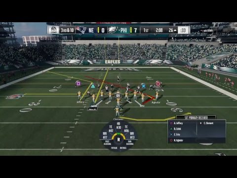 Madden 18: Game 21 (4-16) Eagles vs Patriots - Super Bowl 2018