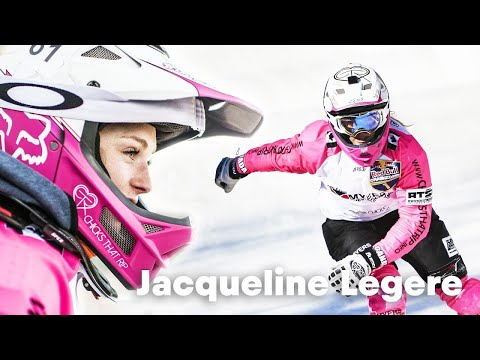 Jacqueline Legere rips at every sport. | Eyes of Red Bull Crashed Ice E1