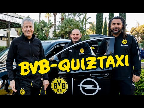 BVB Quiztaxi 2019 | Coach Edition with Lucien Favre & Manfred Stefes