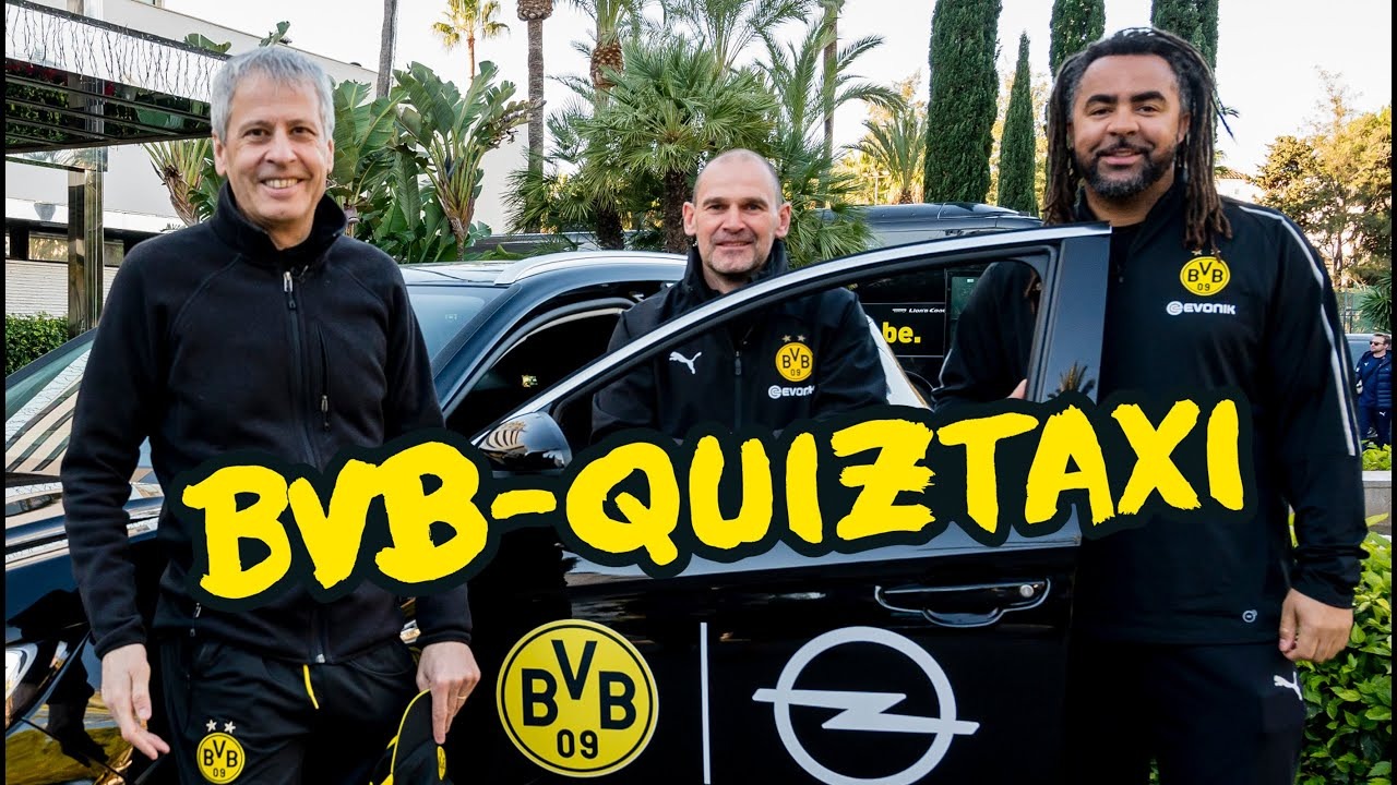 BVB-Quiztaxi 2019 | Trainer Edition mit Lucien Favre & Manfred Stefes