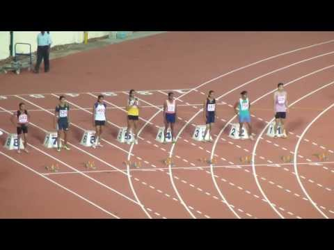 Women's  100 Final Senior Inter State Athletics Championship. 2013. Chennai.