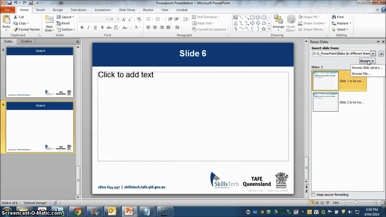 how to insert slides from another presentation in powerpoint 2010, Presentation templates