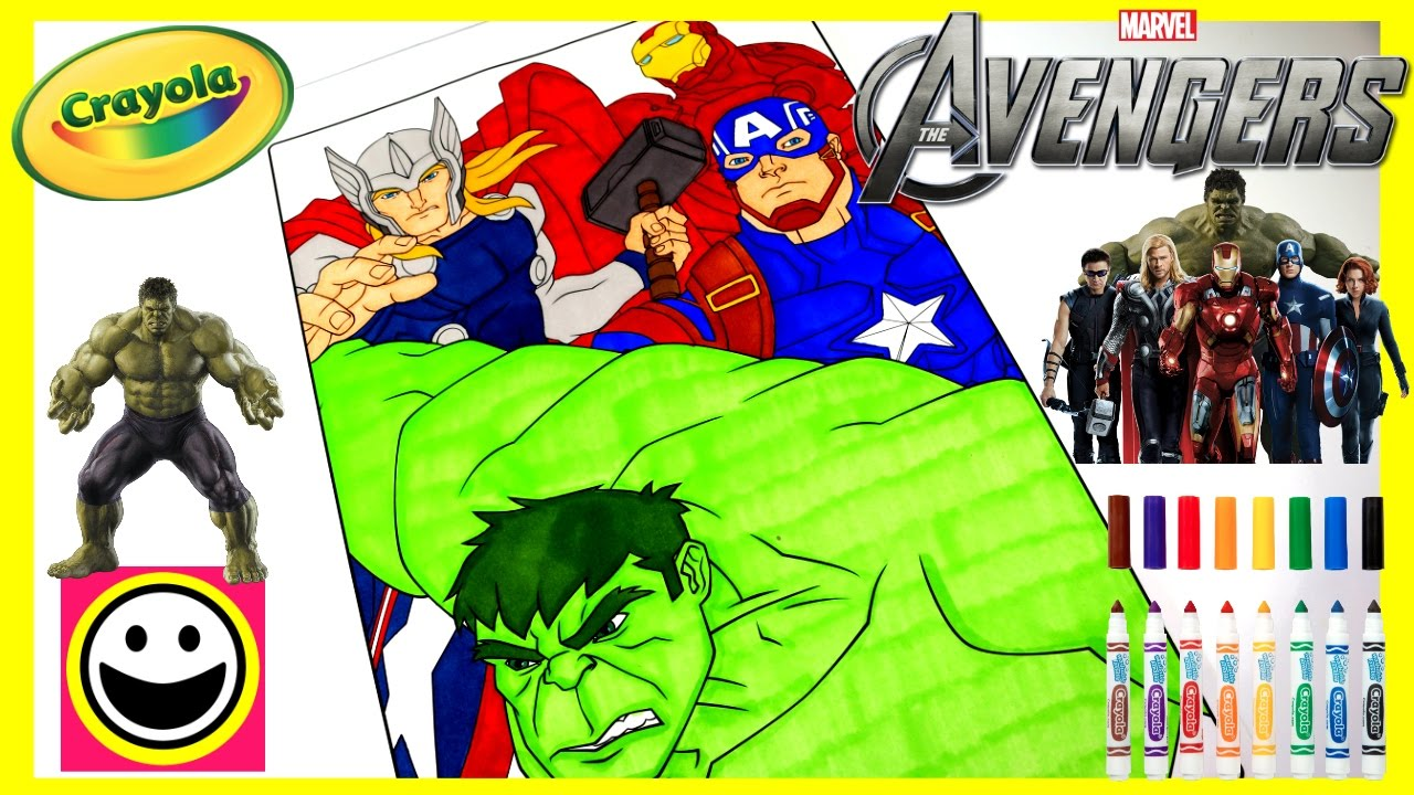 AVENGERS Full Movie Cast | Thor, Hulk, Ironman & Captain America ...