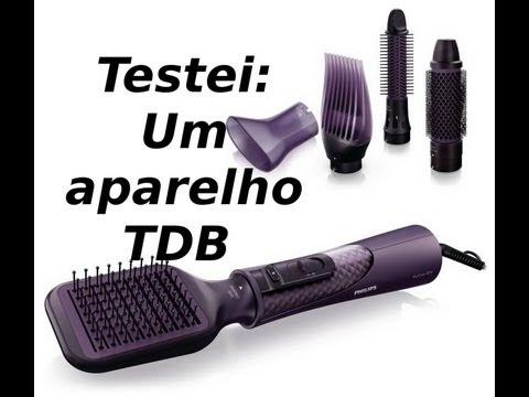 Testei! Philips Dry & Style Natural Looks with Care (ProCare Airstyler)
