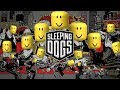 ROBLOX DEATH SOUND / OOF COMP | Sleeping Dogs Gameplay |