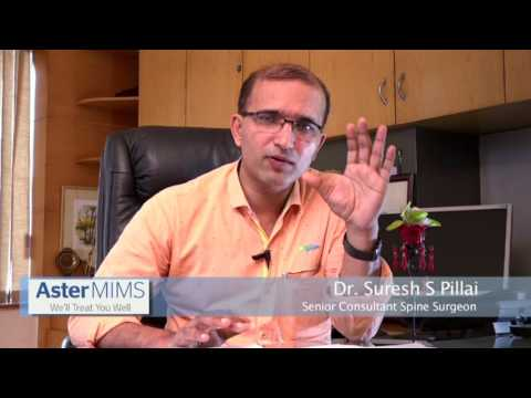 Dr.Suresh S Pillai from Aster MIMS explains about Scoliosis