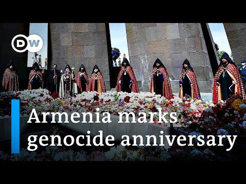 US President Joe Biden recognizes Armenian genocide   DW News