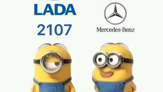 Mercedes vs Lada. Мэрс против Лады. Прикол