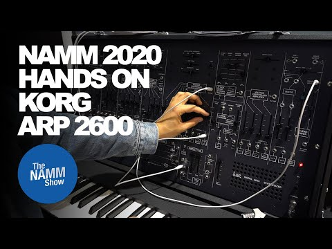 NAMM 2020 - Korg ARP2600 Limited Edition Re-Release