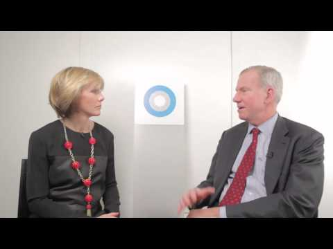 J Frank Brown, COO General Atlantic, stops into the Hub Culture Davos Pavilion 2013