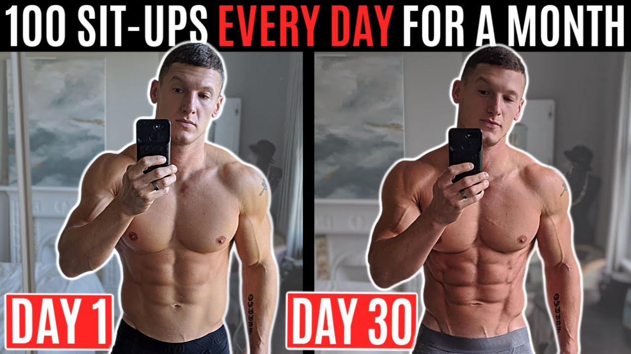 can you lose weight by only doing sit ups