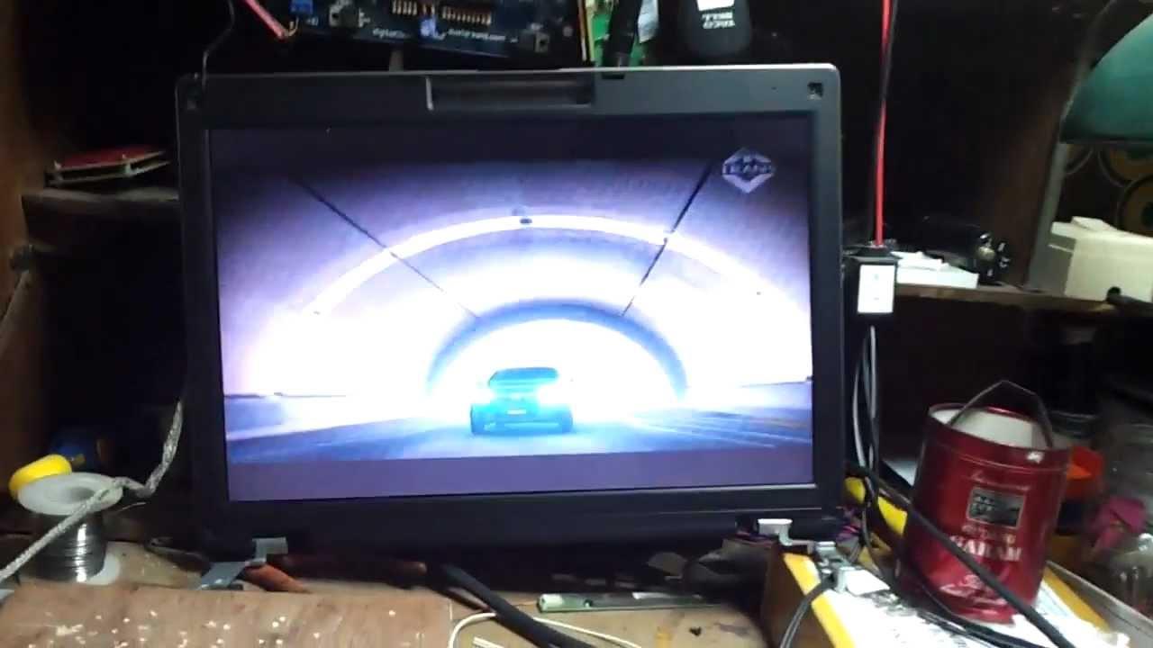 Mengubah Lcd Laptop Menjadi Tv Lcd Youtube