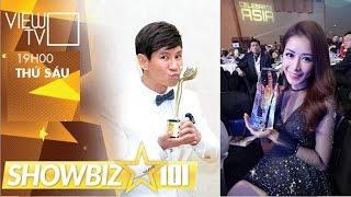Chipu, Sơn Tùng, Lý Hải được vinh danh tại WEBTV ASIA AWARDS 2016   Showbiz 101   VIEW TV-VTC8