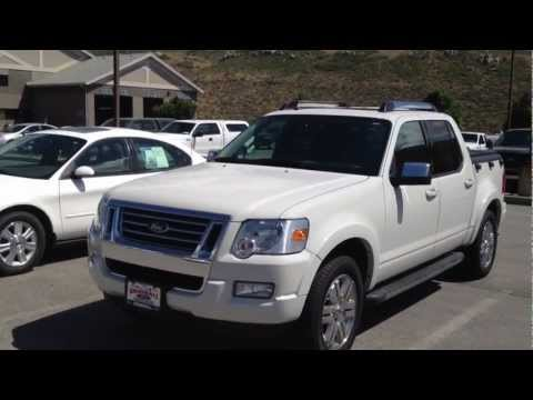 2010 ford explorer sport trac limited short tour start up - Ford explorer sport trac interior parts ...