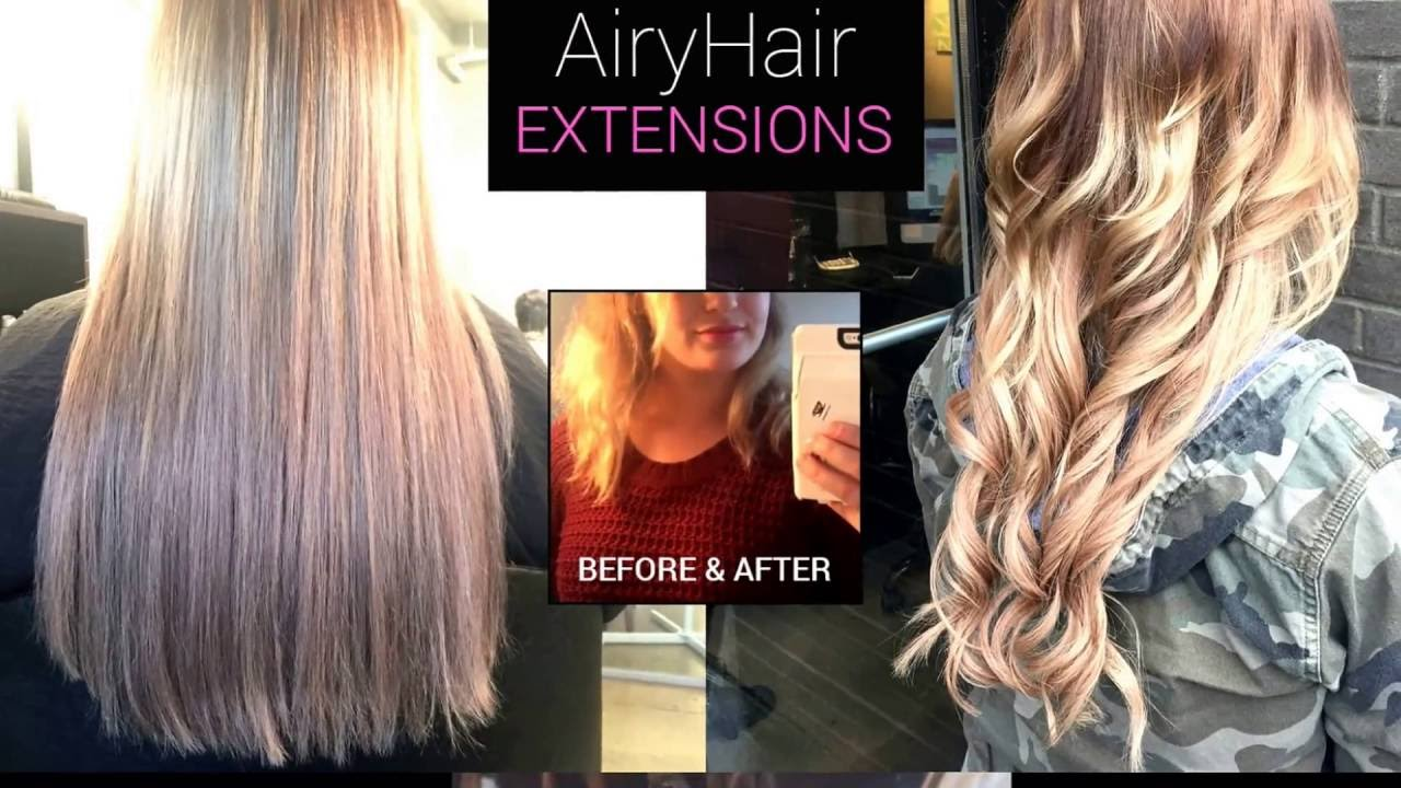Airyhair Review Micro Ring Loop Extensions Youtube