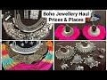 Affordable(Rs.50/ 100) Silver Junk & Boho jewellery haul. Favourite markets for this jewellery