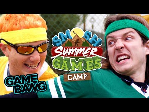 SUMMER GAMES: CAMP BEGINS (Smosh Summer Games) - YouTube
