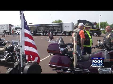 Vietnam War Memorial Arrives in Twin Ports