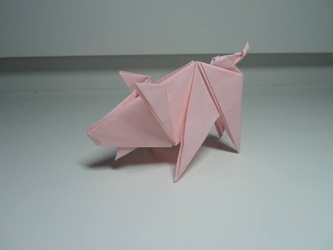 origami pig ladislav ka�ka youtube