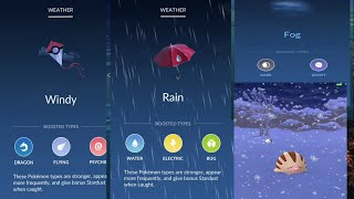 Pokemon go : new weather system and 50 new gen 3 pokemon