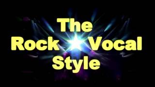 The Rock Vocal Style : Видео школа (английский)