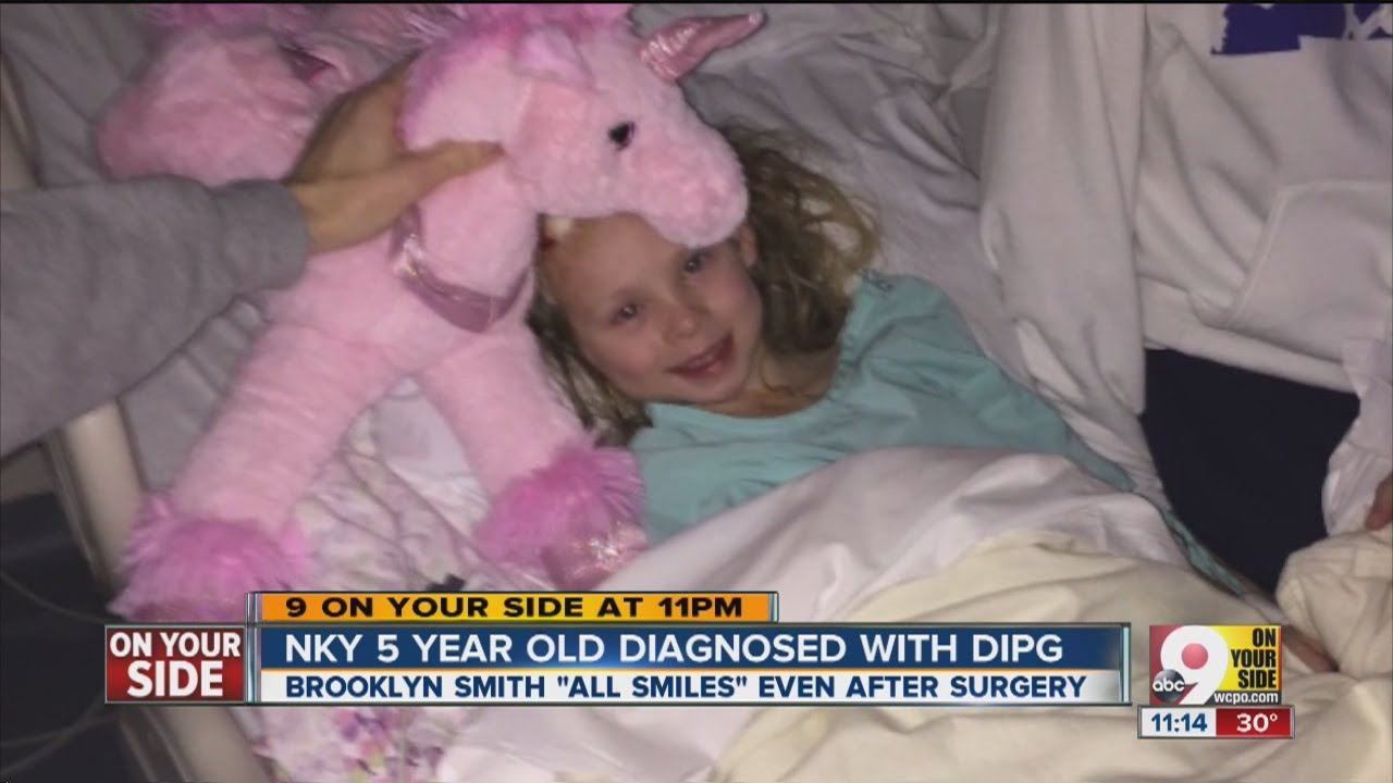 Nky 5 Year Old Diagnosed With Dipg Youtube