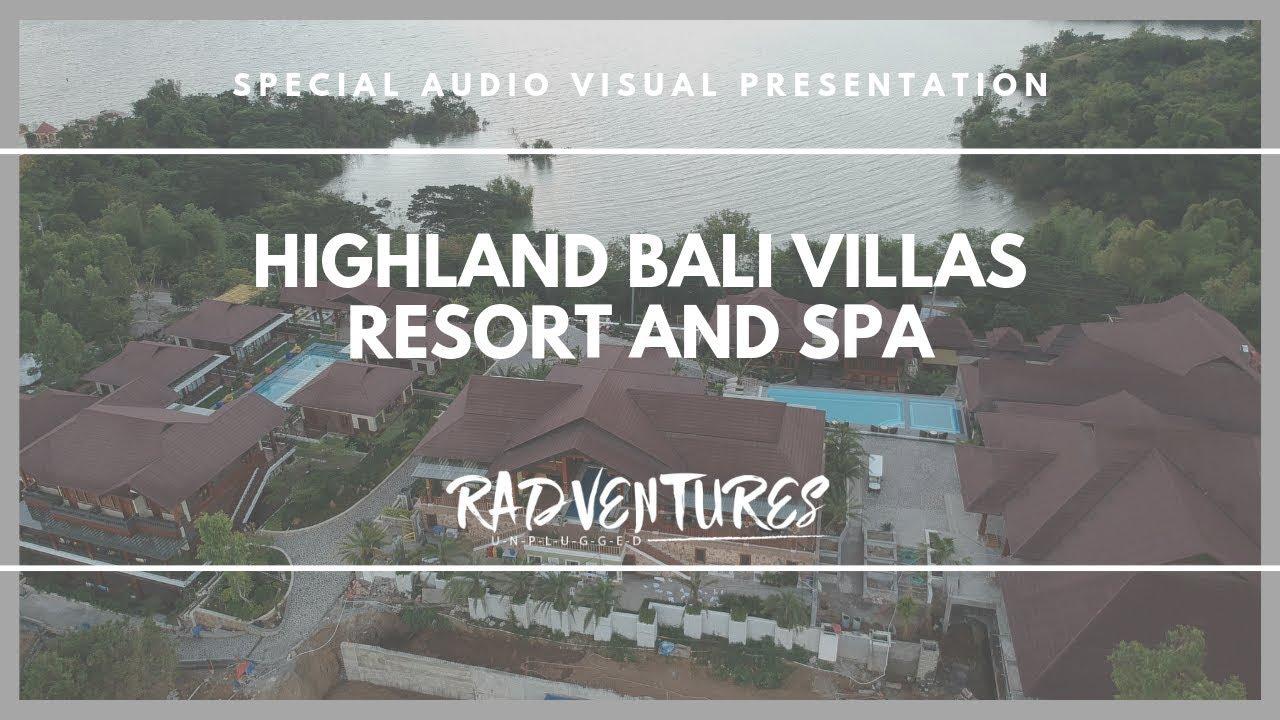 Videos Highland Bali Villas Resort Spa