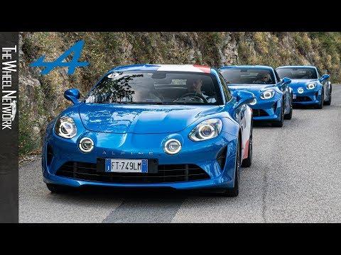 2019 Alpine A110 At The Col De Turini – Media Drive Event