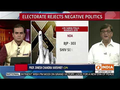 Electorate rejects negative politics | In Focus | Discussion | Newsnight | DD India | 24.05.2019