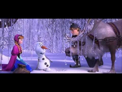 Frozen- Meeting Olaf Clip (HD)