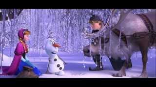 frozen  meeting olaf clip  hd