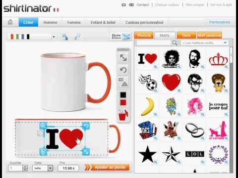 personnaliser un mug facilement youtube. Black Bedroom Furniture Sets. Home Design Ideas
