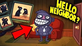 IS THIS SUPPOSED TO BE HELLO NEIGHBOR?! | Troll Face Quest Video Games 2