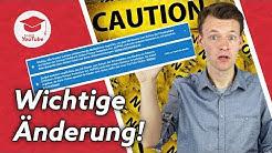 """🛑 Wichtige Änderungen auf YouTube 🛑 Einstellung """"speziell für Kinder"""" (COPPA) - Unbedingt einstellen"""