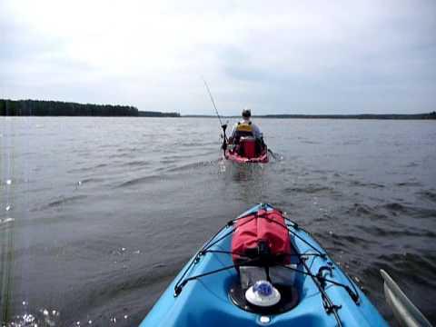 Kayak with trolling motor: Part 1