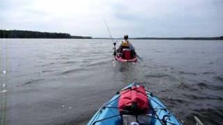 kayak with trolling motor part 1