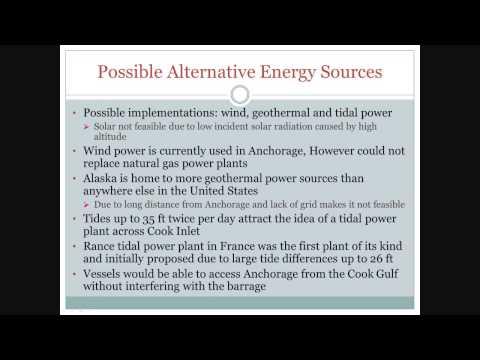 ME 417 Alternative Energy Presentation, James Miller/Kyle Silcox