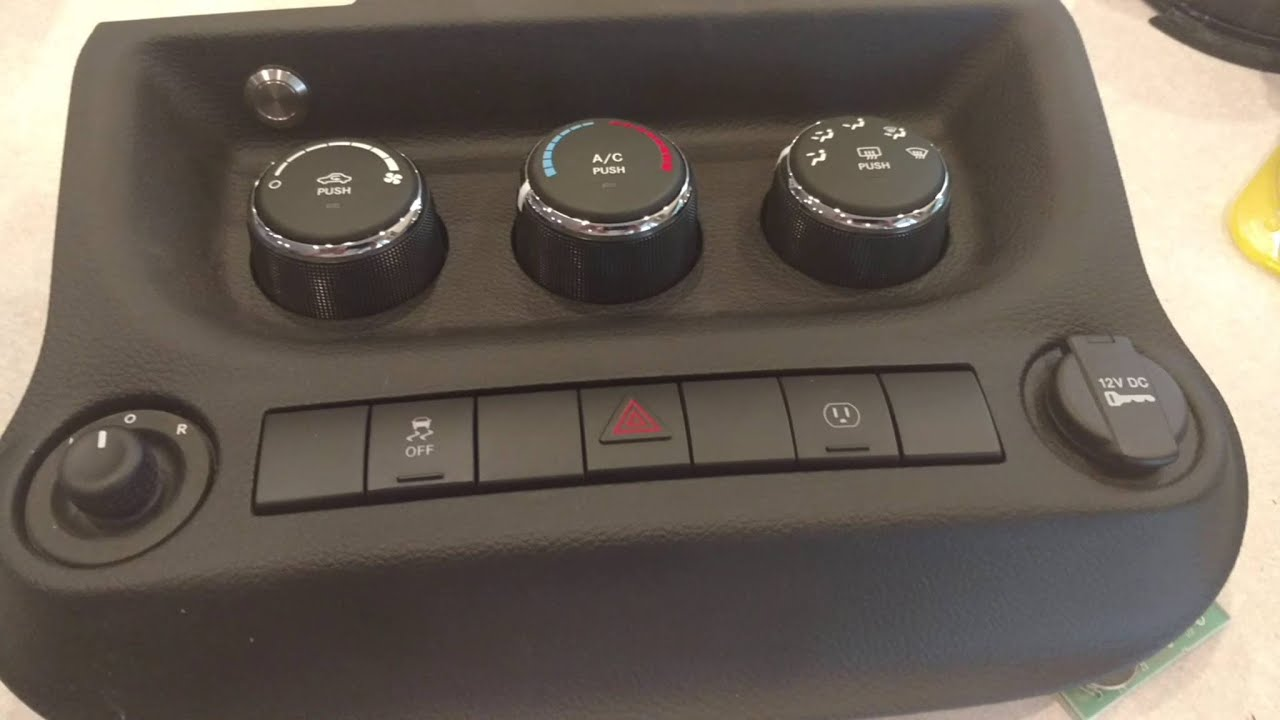 Hidden Garage Remote In 2016 Jeep Wrangler JKU / JK