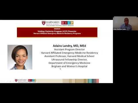 Visiting Clerkship Program: Harvard Affiliated Emergency Medicine Residency Programs