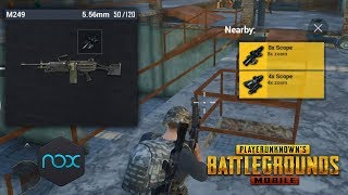 I STARTED WITH MY DREAM LOADOUT! PUBG Mobile Gameplay with Nox Player