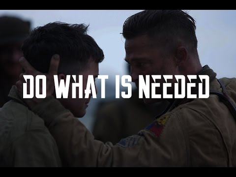 DO WHAT IS NEEDED - Motivational video
