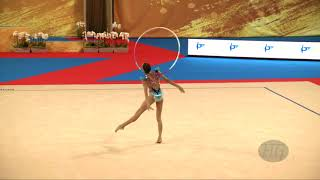 Video ANO BACA Maria (ESP) - 2018 Rhythmic Worlds, Sofia (BUL) - Qualifications Hoop download MP3, 3GP, MP4, WEBM, AVI, FLV November 2018