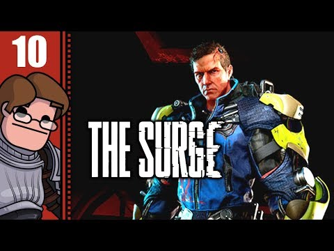 Let's Play The Surge Part 10 - Resolve Biolabs