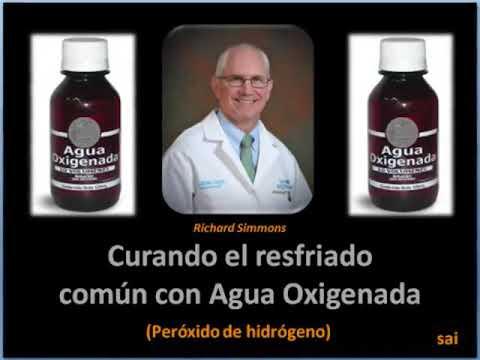 "Agua oxigenada CURA "" CASI"" TODO"