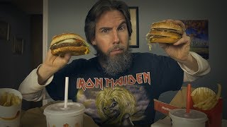 ASMR Showdown: Big Mac vs Whopper