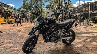 A MÁS DE 160 Km/h en mi primera Moto de Alto cc I KTM 950 SM