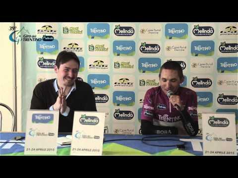 Giro del Trentino Melinda 2015: Cesare Benedetti's press conference / 2
