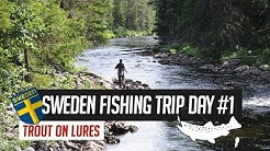 Trout Fishing trip to Idre, Sweden day 1 - The long drive north