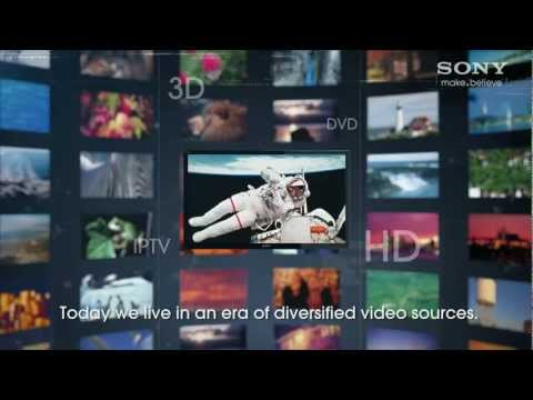 Sony BRAVIA: X-Reality PRO picture engine